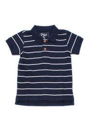 Striped Polo T-Shirt NAVY (Boy's T-Shirt)