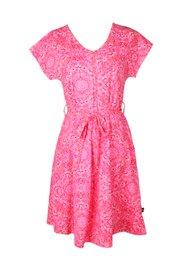 Floral Print Nursing Flare Dress RED (Ladies' Dress)