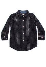 Digital Pixel Long Sleeve Shirt BLACK (Boy's Shirt)