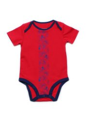Floral Patterned Print Romper RED (Baby Romper)