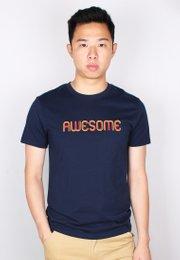AWESOME T-Shirt NAVY (Men's T-Shirt)