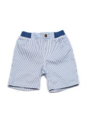 Striped Shorts WHITE (Boy's Shorts)