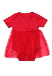 Bubble Romper RED (Baby Romper)