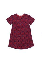 Tribal Print Shift Dress RED (Girl's Dress)