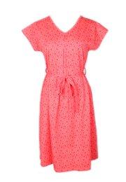 Floral Design Flare Dress PINK (Ladies' Dress)