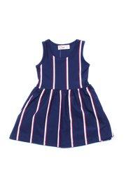 Shadow Stripes Dress NAVY (Girl's Dress)