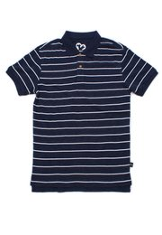 Striped Polo T-Shirt NAVY (Men's Polo)