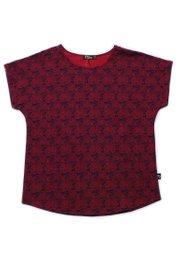 Tribal Print Blouse RED (Ladies' Top)