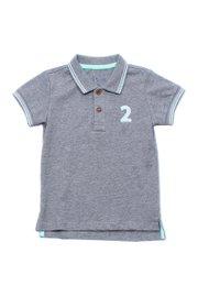 Twin Tipped Polo T-Shirt GREY (Boy's T-Shirt)