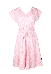Floral Print Nursing Flare Dress PINK (Ladies' Dress)