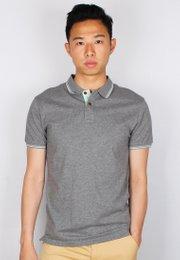 Twin Tipped Polo T-Shirt GREY (Men's Polo)