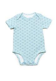 Seashell Print Romper BLUE (Baby Romper)