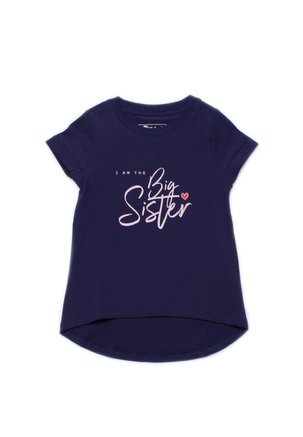 BIG SISTER T-Shirt NAVY (Girl's Top)