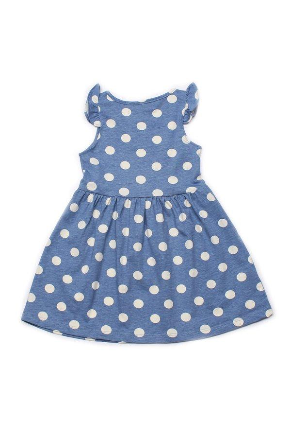 Polka Dots Print Dress BLUE (Girl's Dress)