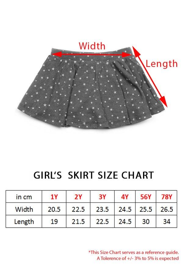 Camo Print Skirt GREY (Girl's Bottom)