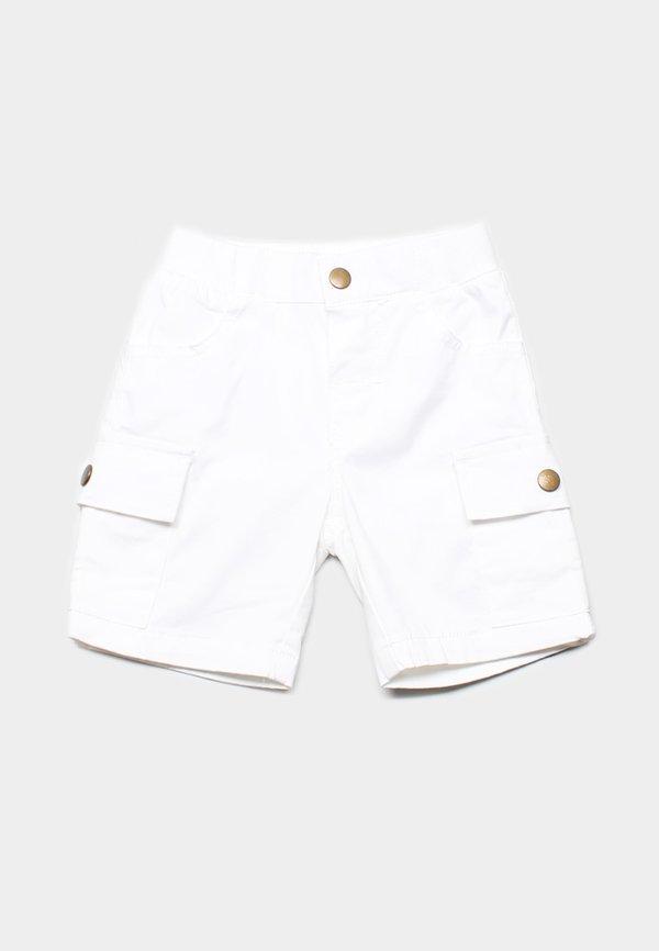 Cargo Shorts WHITE (Boy's Shorts)