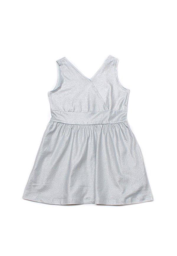 Criss Cross Dress BLUE GREY (Girl's Dress)