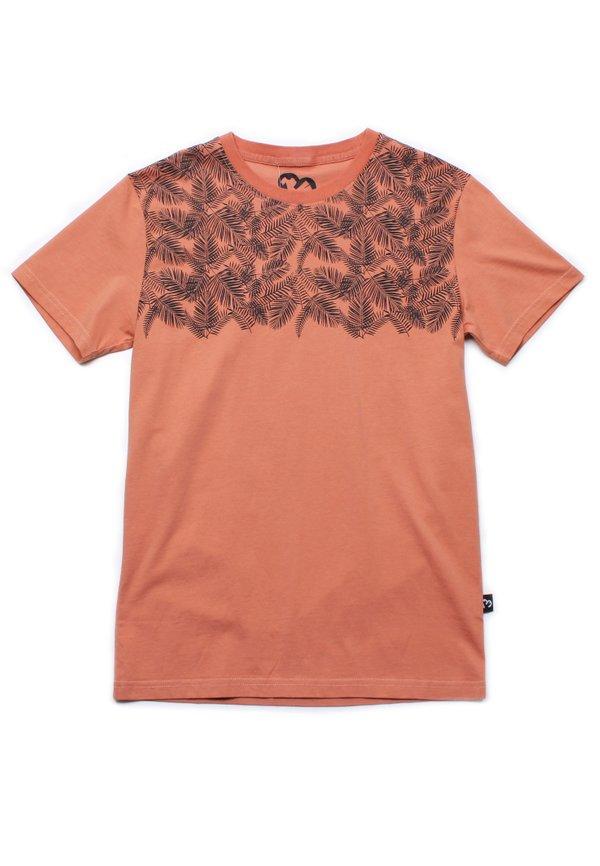 Botanical Print T-Shirt ORANGE (Men's T-Shirt)