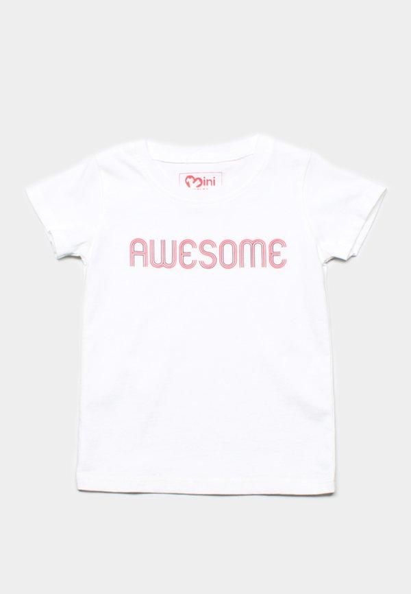 AWESOME T-Shirt WHITE (Boy's T-Shirt)