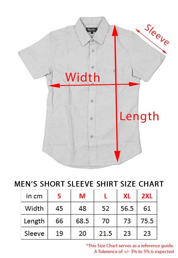 Rose Print Motif Short Sleeve Shirt YELLOW (Men's Shirt)