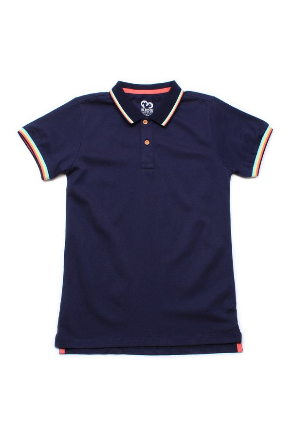 Tri Tipped Polo T-Shirt NAVY (Boy's T-Shirt)