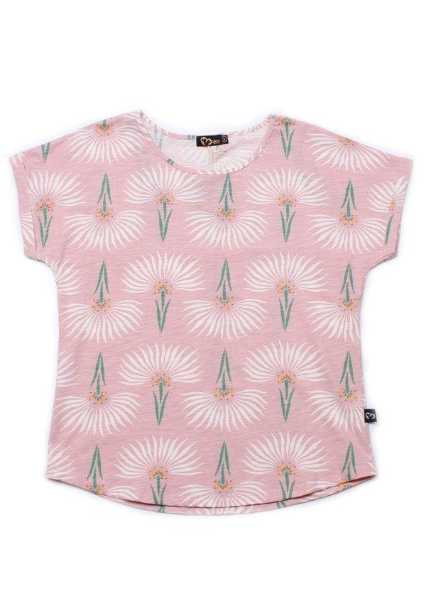 Floral Pattern Print Blouse PINK (Ladies' Top)