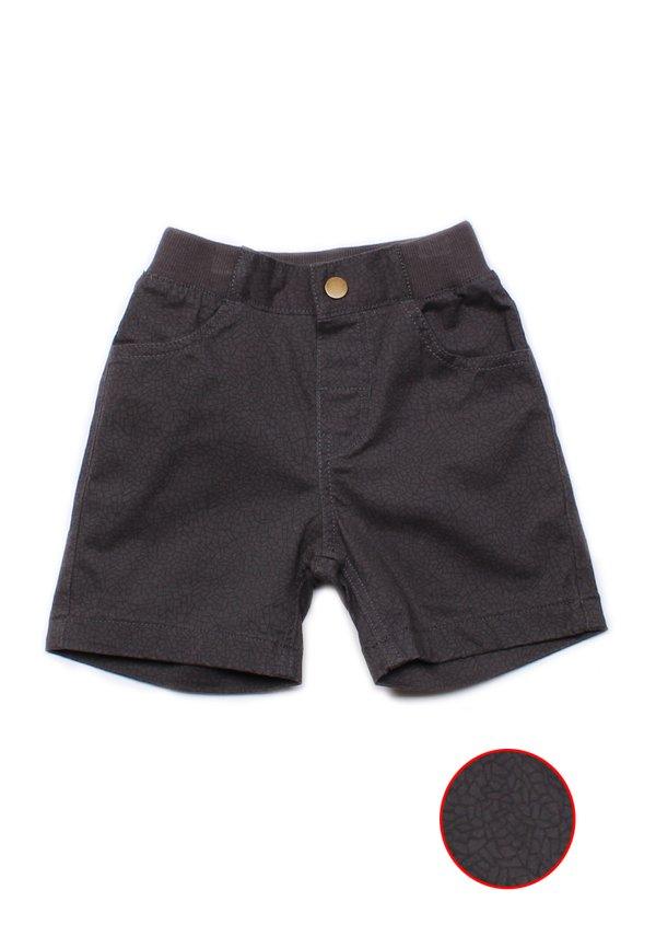Mosaic Print Shorts GREY (Boy's Shorts)