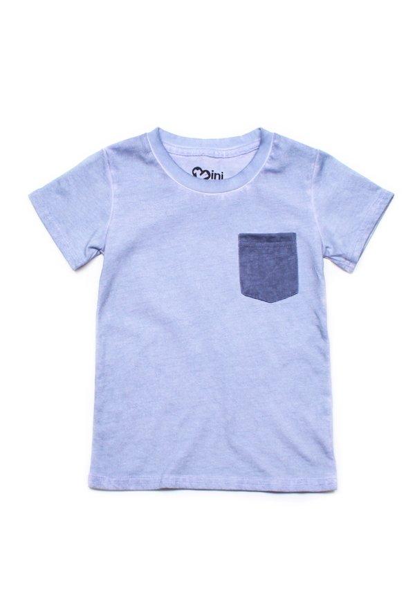 Faded Look Pocket T-Shirt BLUE (Boy's T-Shirt)