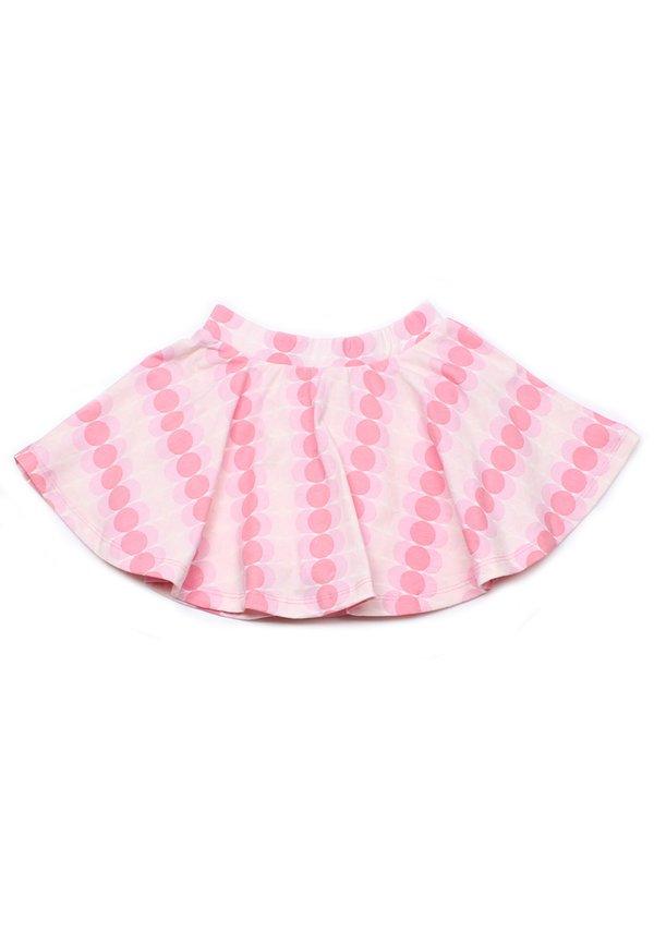 Dots Design Print Skirt PINK (Girl's Bottom)