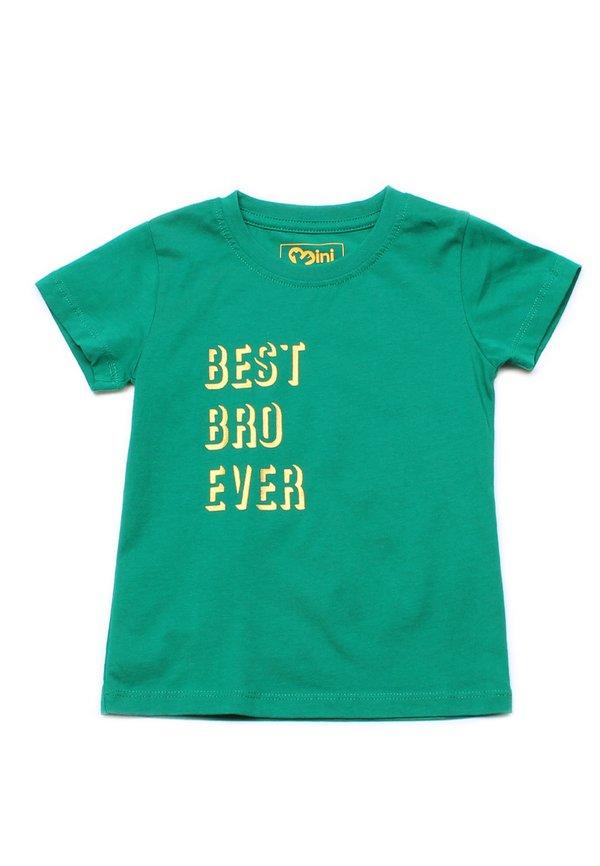 BEST BRO EVER T-Shirt GREEN (Boy's T-Shirt)