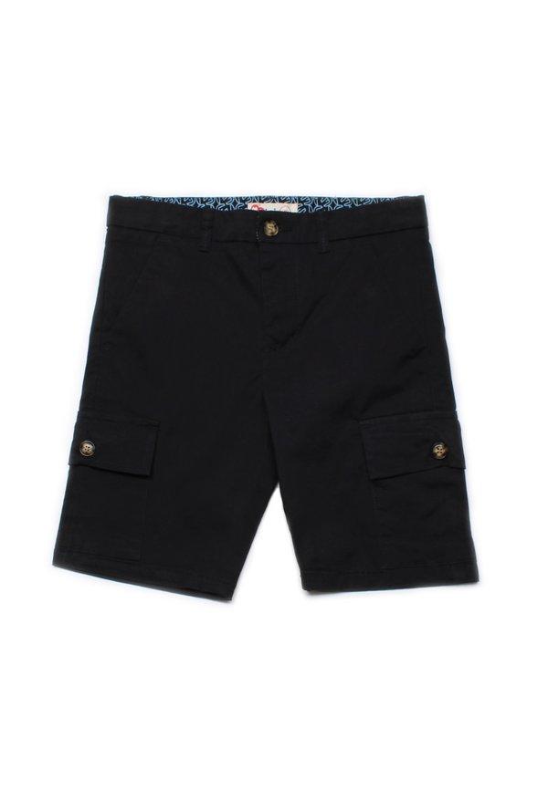 Cargo Shorts BLACK (Boy's Shorts)