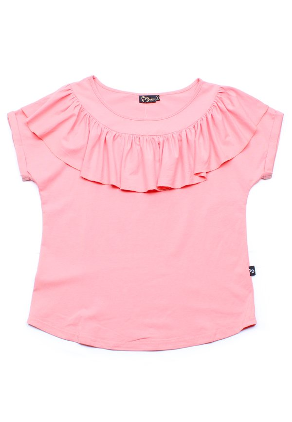 Frill Ruffle Collar Blouse PINK (Ladies' Top)