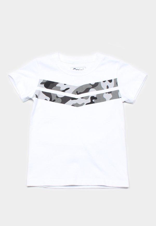 Camo Chevron T-Shirt WHITE (Boy's T-Shirt)