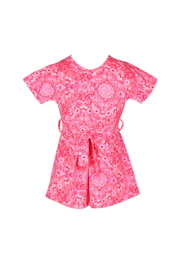 Floral Print Flare Dress RED (Girl's Dress)