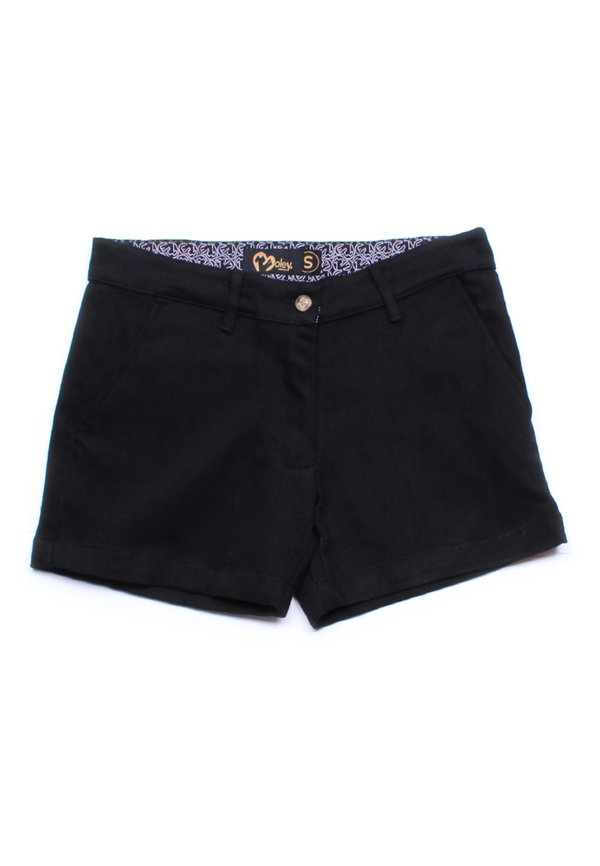 Brushed Cotton Twill Shorts BLACK (Ladies' Bottom)