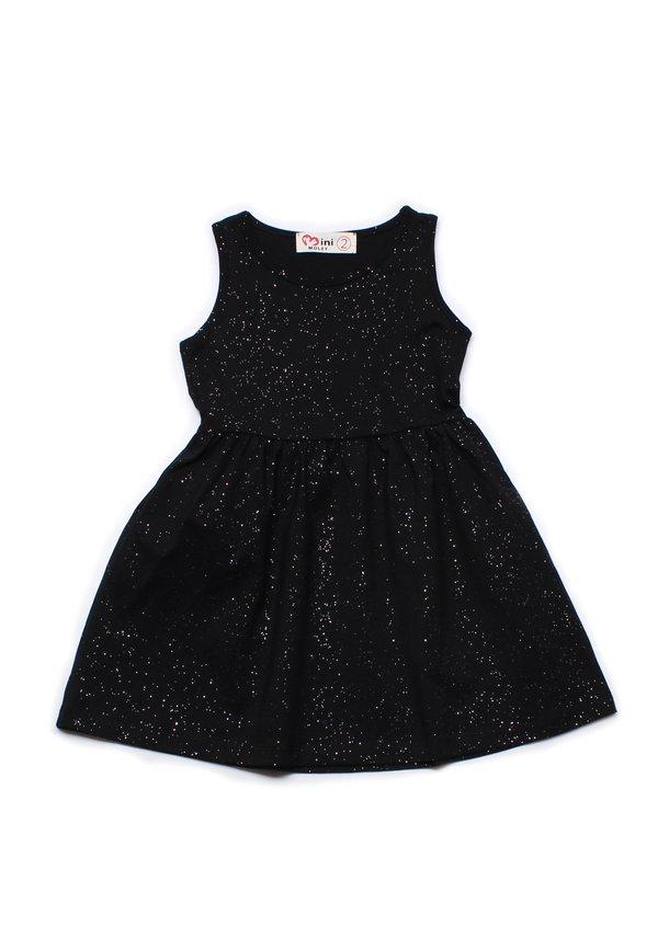 Glitter Dust Dress BLACK (Girl's Dress)