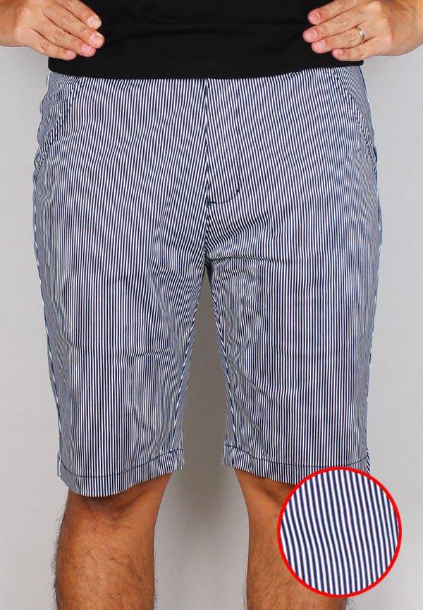 Striped Bermudas NAVY (Men's Bottom)