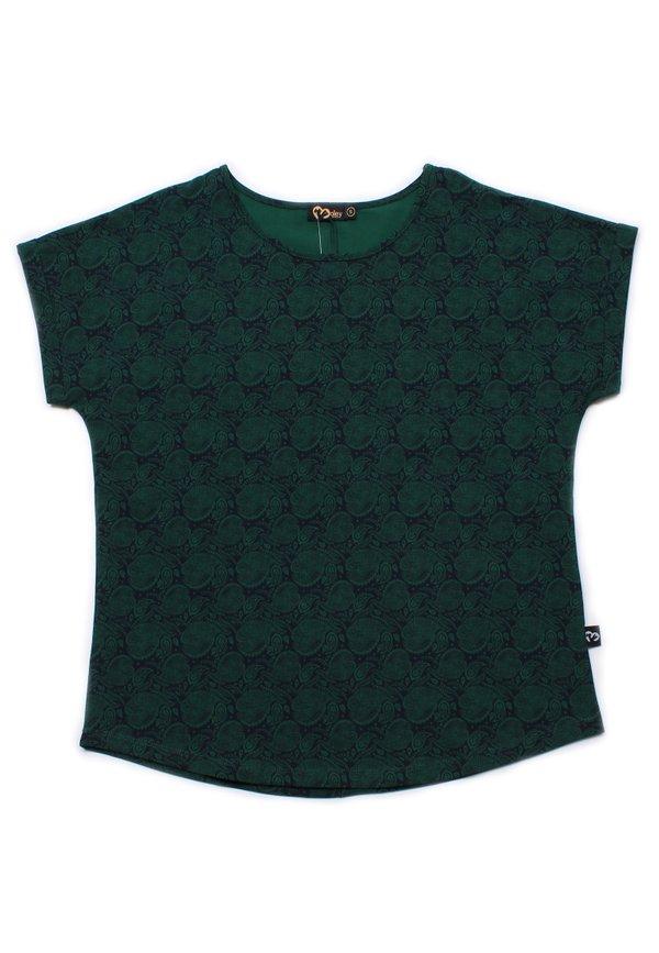 Tribal Print Blouse GREEN (Ladies' Top)