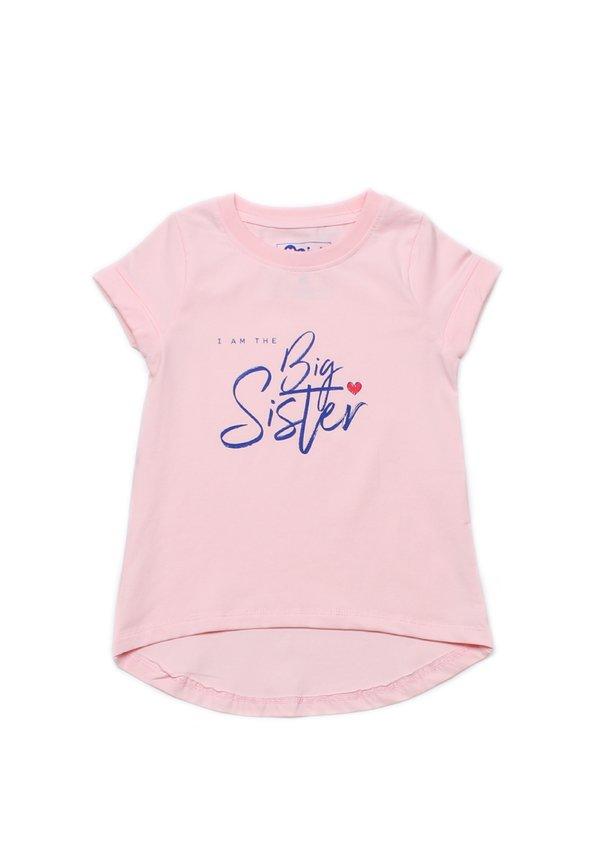 BIG SISTER T-Shirt PINK (Girl's Top)