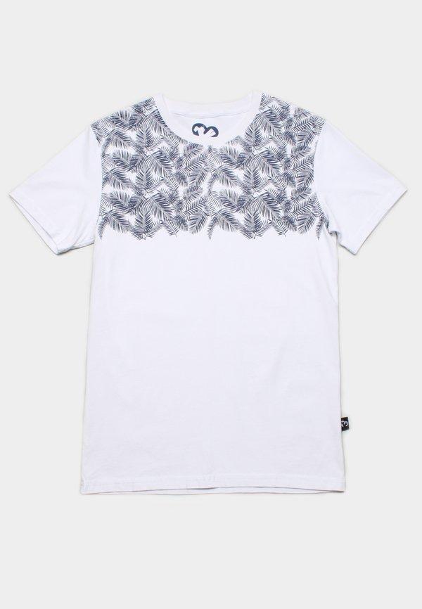 Botanical Print T-Shirt WHITE (Men's T-Shirt)