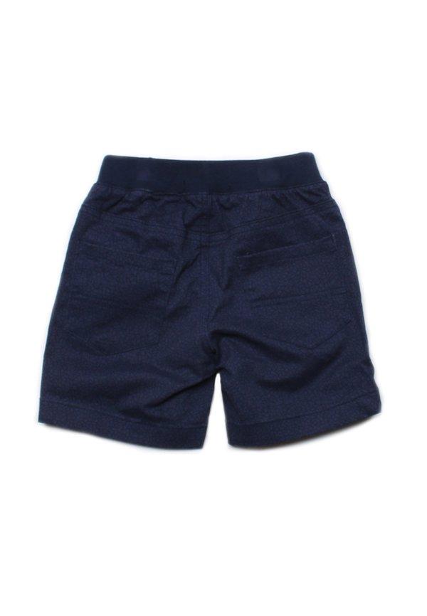 Mosaic Print Shorts NAVY (Boy's Shorts)
