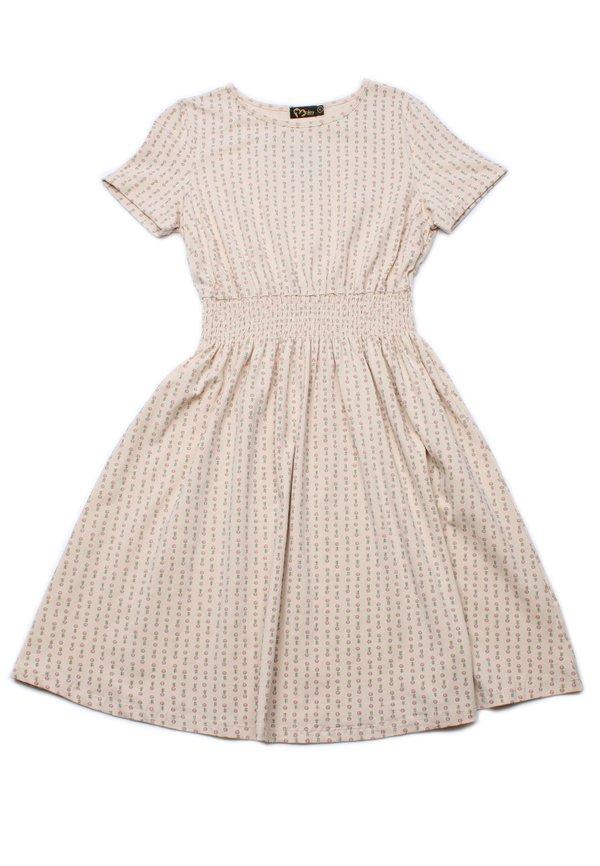 Design Print Skater Dress CREAM (Ladies' Dress)