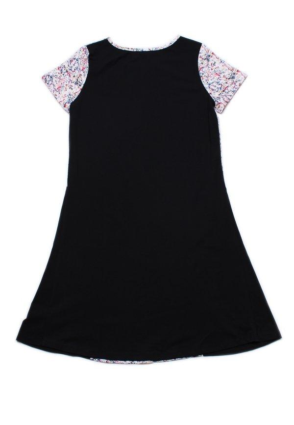 Design Print Shift Dress BLACK (Ladies' Dress)