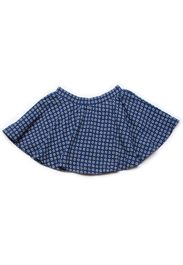 Design Print Skirt NAVY (Girl's Bottom)