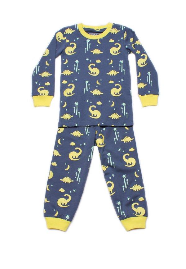 Dinosaur Print Pyjamas Set NAVY (Kids' Pyjamas)