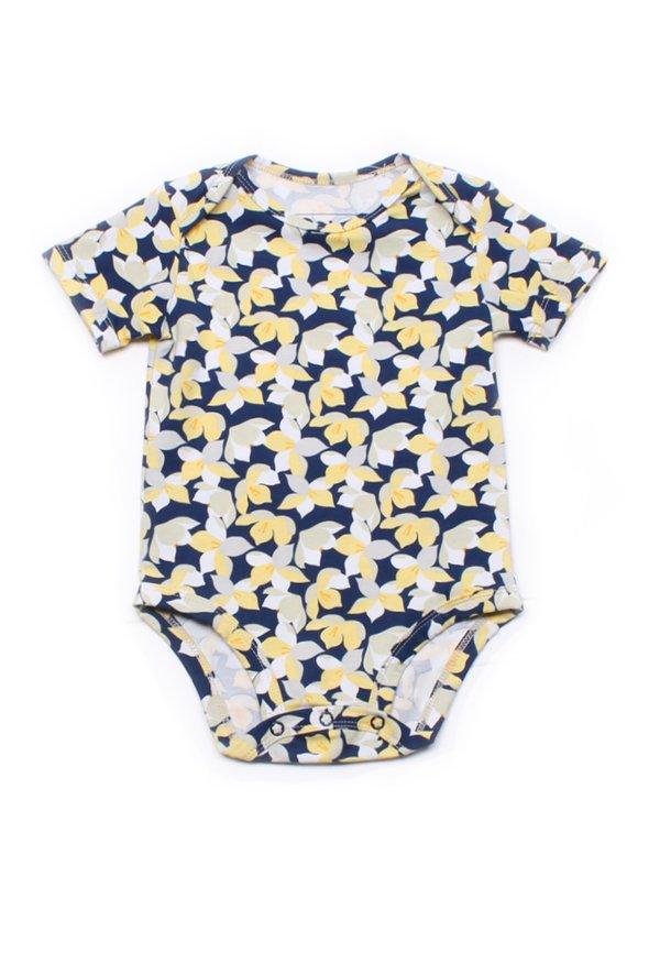Floral Print Romper YELLOW (Baby Romper)