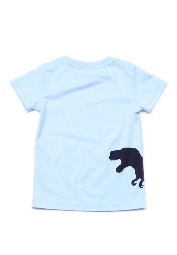 Dino Footprint T-Shirt BLUE (Boy's T-Shirt)