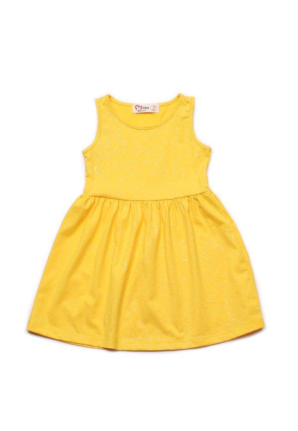 Glitter Dust Dress YELLOW (Girl's Dress)