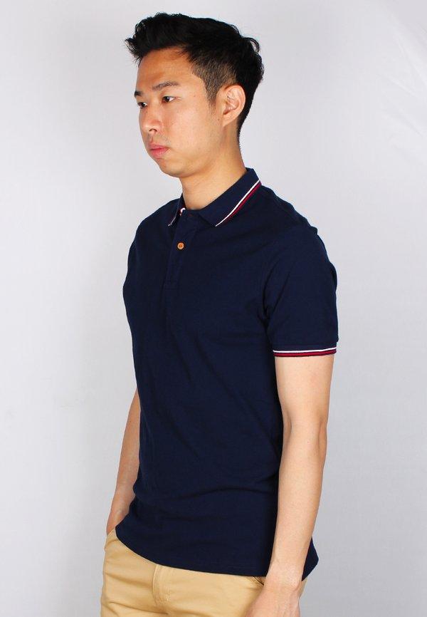 Twin Tipped Polo T-Shirt NAVY (Men's Polo)