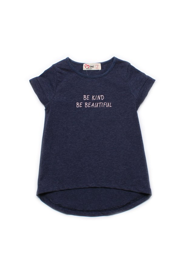 BE KIND BE BEAUTIFUL T-Shirt NAVY (Girl's Top)
